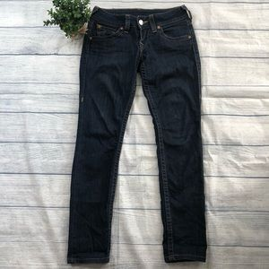 True Religion Flap Pocket Skinny Jeans